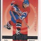 1997-98 PINNACLE BAP SAKU KOIVU CANADIENS ONE TIMERS CARD