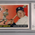 2006 TOPPS MICKEY MANTLE HOME RUN HISTORY GRADED BCCG10!