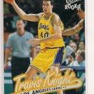 1996-97 FLEER ULTRA TRAVIS KNIGHT LAKERS ROOKIE CARD
