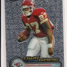 2006 TOPPS CHROME LARRY JOHNSON CHIEFS OWN THE GAME INSERT CARD