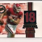 2005 PRESSPASS JASON WHITE SOONERS JERSEY CARD GOLD #'D 352/550!