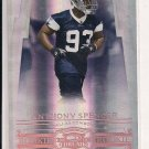 2007 DONRUSS THREADS ANTHONY SPENCER COWBOYS BRONZE ROOKIE CARD #'D 070/250!