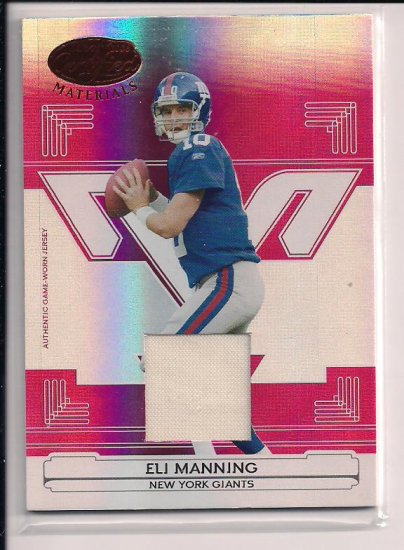 2006 LEAF CERTIFIED ELI MANNING GIANTS JERSEY CARD #'D 094/150!