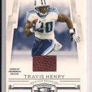 2007 DONRUSS THREAD TRAVIS HENRY GAME USED BALL CARD #'D 143/250!