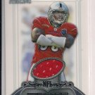 2006 BOWMAN STERLING DERRICK BURGESS RAIDERS JERSEY CARD
