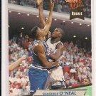 1992-93 FLEER ULTRA SHAQUILLE O'NEAL MAGIC ROOKIE CARD