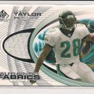 2004 SP GAME USED EDITION FRED TAYLOR JAGUARS JERSEY CARD