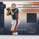 2004 PLAYOFF HONORS J.P. LOSMAN BILLS ROOKIE GEMS JERSEY CARD #'D 16/750!