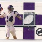 2006 PRESSPASS BRETT BASANEZ JERSEY CARD