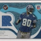 2003 TOPPS PRISTINE CHARLES ROGERS LIONS ROOKIE JERSEY CARD