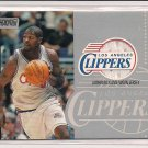 2000-01 TOPPS STADIUM CLUB TYRONE NESBY CLIPPERS JERSEY CARD