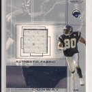 2001 SP GAME USED CURTIS CONWAY CHARGERS JERSEY CARD