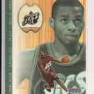 2001-02 UPPER DECK DESMOND MASON GAME FLOOR CARD