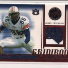 2007 PRESSPASS COURTNEY TAYLOR GRIDIRON GAMERS JERSEY CARD