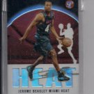 2003-04 TOPPS PRISTINE JEROME BEASLEY HEAT UNCIRCULATED ROOKIE REFRACTOR CARD