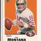 1999 UPPER DECK RETRO JOE MONTANA 49ERS CARD