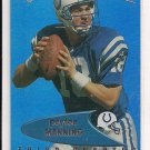 1999 EDGE ODYSSEY PEYTON MANNING COLTS PREVIEW CARD