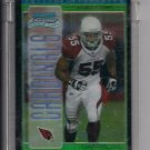 2005 BOWMAN CHROME DARRYL BLACKSTOCK CARDINALS UNCIRCULATED GREEN ROOKIE REFRACTOR #'D 104/399!