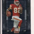 2008 DONRUSS ELITE DWAYNE BOWE CHIEFS CARD
