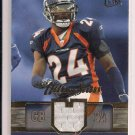 2007 FLEER ULTRA CHAMP BAILEY BRONCOS ULTRA STARS JERSEY CARD