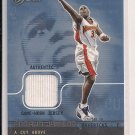 2003-04 FLEER FLAIR ANTAWN JAMISON WARRIORS CUT ABOVE JERSEY CARD #'D 259/500!