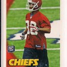 JAVIER ARENAS CHIEFS 2010 TOPPS ROOKIE CARD
