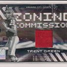 TRENT GREEN CHIEFS 2006 DONRUSS ELITE ZONING COMMISSION JERSEY CARD #167/399!