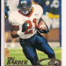 TIKI BARBER GIANTS/VIRGINIA 1997 PRESSPASS ROOKIE CARD