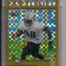 ANTWAN ODOM TITANS/BENGALS 2004 TOPPS CHROME ROOKIE UNCIRCULATED XFRACTOR CARD #'D 102/279!