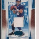 ELI MANNING GIANTS 2007 LEAF CERTIFIED MATERIALS JERSEY CARD #'D 32/50!