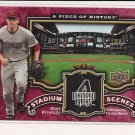MARK REYNOLDS DIAMONDBACKS 2009 UPPER DECK A PIECE OF HISTORY STADIUM SCENES CARD #'D 66/75!