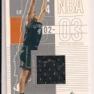 CHRIS MIHM CAVALIERS 2002-03 SP GAME USED JERSEY CARD