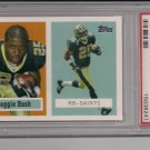REGGIE BUSH 2006 TOPPS TURN BACK THE CLOCK ROOKIE CARD GRADED PSA 10!