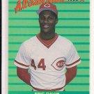 ERIC DAVIS REDS 1988 FLEER ALL STAR TEAM CARD