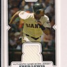 FRED LEWIS GIANTS 2008 TOPPS GAME-WORN JERSEY CARD