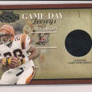 COREY DILLON BENGALS 2001 PLAYOFF HONORS GAME DAY JERSEY CARD