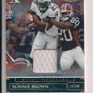 RONNIE BROWN DOLPHINS 2007 X'S JERSEY #'D 112/130!