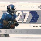 RON DAYNE GIANTS 2002 UPPER DECK HONOR ROLL JERSEY