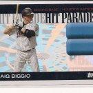 CRAIG BIGGIO ASTROS  2006 TOPPS HIT PARADE CARD