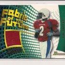 TIM CARTER 2002 BOWMAN FABRIC OF THE FUTURE JERSEY CARD