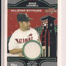 MIKE LOWELL MARLINS 2004 TOPPS ALL- STAR STITCHES JERSEY CARD