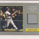ANDRUW JONES BRAVES 2006 TOPPS TURKEY RED JERSEY CARD