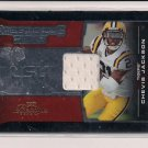 CHEVIS JACKSON LSU 2008 PLAYOFF PRESTIGIOUS PICKS JERSEY CARD #'D 115/250!