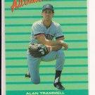ALAN TRAMMEL TIGERS 1988 FLEER ALL STAR TEAM CARD