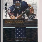 MARK BRADLEY BEARS 2005 DONRUSS ZENITH ROOKIE ROLL CALL JERSEY