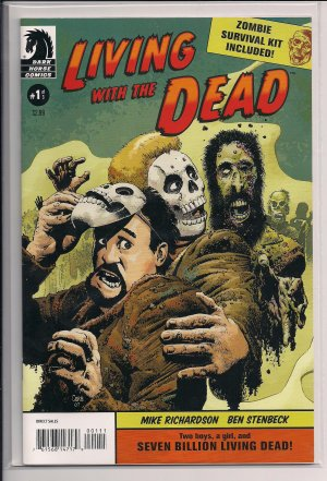 LIVING WITH THE DEAD #1 (OF 3) (2007)-MIKE RICHARDSON/BEN STENBECK