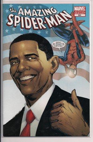AMAZING SPIDER-MAN #583 (3RD PRINT)-OBAMA
