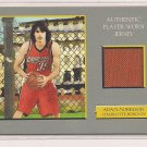 ADAM MORRISON BOBCATS 2006-07 TOPPS TURKEY RED ROOKIE JERSEY CARD