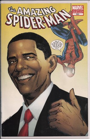AMAZING SPIDER-MAN #583 2ND PRINT (2009)-NEVER READ!