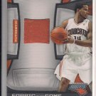 D.J. AUGUSTIN PANINI CERTIFIED FABRIC OF THE GAME JERSEY CARD #'D 187/250!